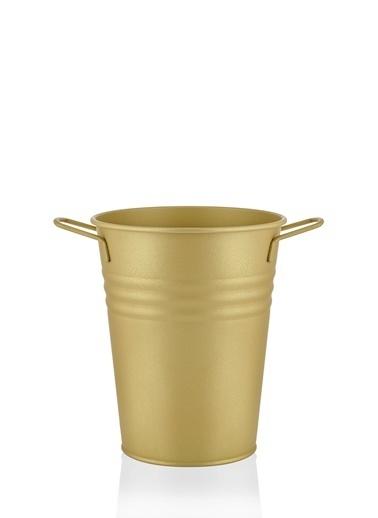 The Mia Vazo 21 Cm - Gold Altın